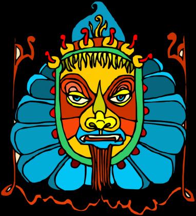 Poszewka na jaska Aztek