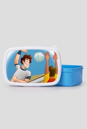 Pudełko śniadaniowe Siatkówka