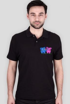 Koszulka polo Zakochane słonie