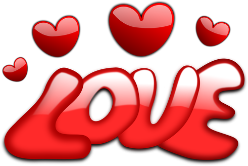 Pluszowy misiu LOVE