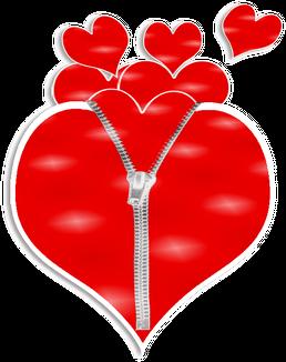 Bokserki damskie Ekspresowe serce