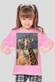 Koszulka z krótkim rękawkiem dla dziecka Żyrafa