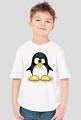 Koszulka dziecięca Zezowaty pingwin