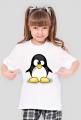 Koszulka dziecięca T-Shirt Zezowaty pingwin