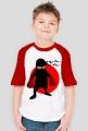 Koszulka dziecięca z krótkim rękawkiem Ninja