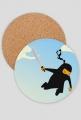 Podkładka pod kubek Latający Ninja