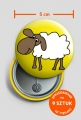 Przypinka duża Owca
