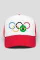 Czapka z daszkiem typu TRUCKER Olimpiada Rio 2016