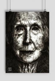 Babcia - plakat