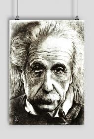 Einstein - plakat