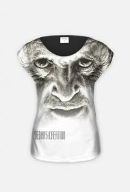 Hannibal - koszulka damska, fullprint