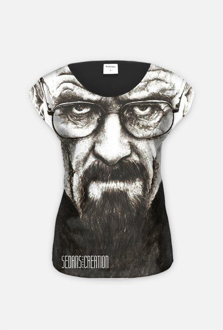 Heisenberg - koszulka damska, fullprint