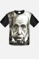 Einstein - koszulka męska, fullprint