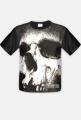 Czaszka - koszulka męska, fullprint