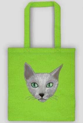 Kot rosyjski niebieski-torba