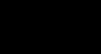 Kubek Mops - Czarny