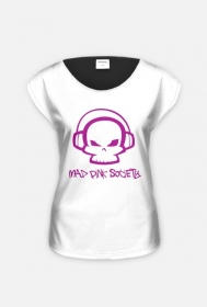 Mad Pink Society modna koszulka damska