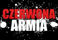 Męski Czerwony T-Shirt: CZERWONA ARMIA II