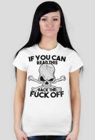 If you can read this - damska koszulka motocyklowa