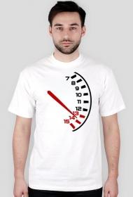Obrotomierz - męska koszulka motocyklowa