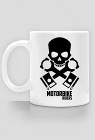 Motorbike riders skull - kubek