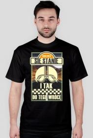 Cokolwiek się stanie i tak do tego wrócę 2 - męska koszulka motocyklowa