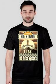 Cokolwiek się stanie i tak do tego wrócę 3 - męska koszulka motocyklowa