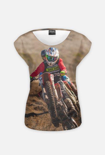 Motorbike FullPrint 2 - koszulka dla motocyklistki