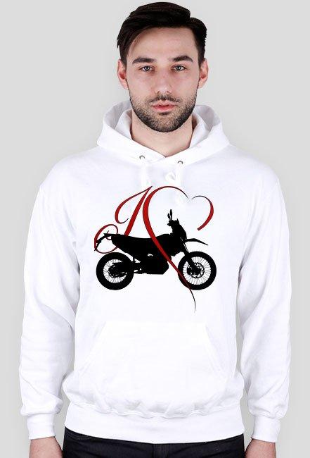 I love moto enduro/cross - Bluza motocyklowa