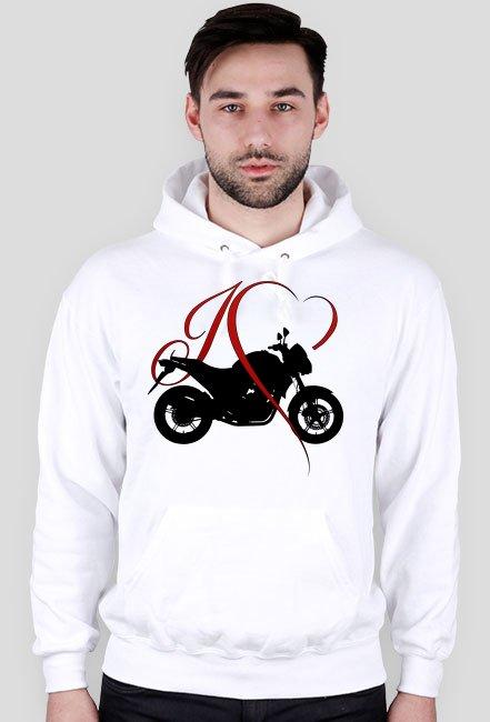 I love moto naked - bluza motocyklowa