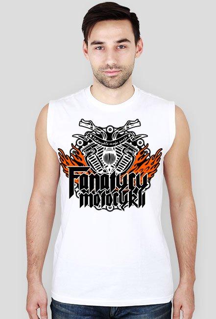 FanatycyMotocykli - Męska koszulka motocyklowa