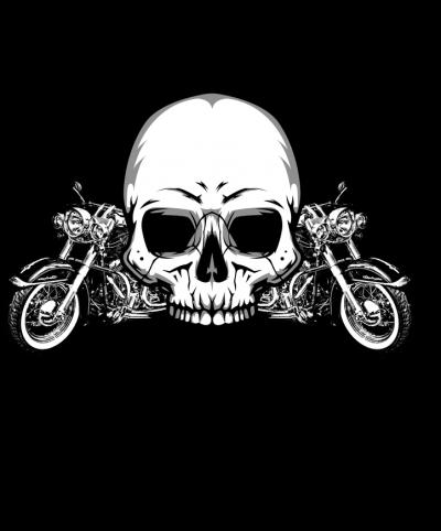 Jeśli uszkodzisz mnie to ja uszkodzę Ciebie - koszulka motocyklowa męska