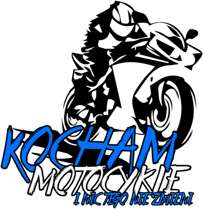 Kocham motocykle i nic tego nie zmieni V2 - Męska koszulka motocyklowa
