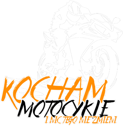 Kocham motocykle i nic tego nie zmieni V2 black - Damska koszulka motocyklowa