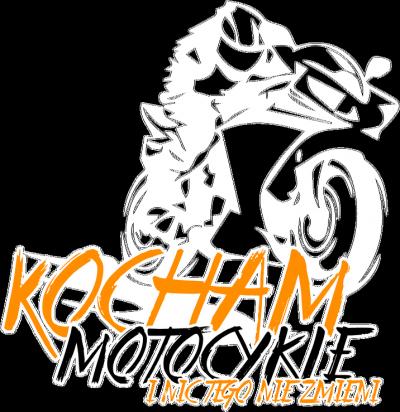 Kocham motocykle i nic tego nie zmieni V2 black - Męska koszulka motocyklowa