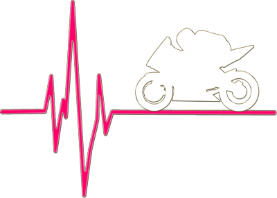 EKG pink - bluza damska