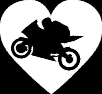 Motoserce gold - męska koszulka motocyklowa