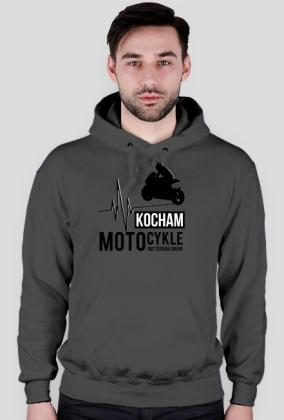 Kocham motocykle i nic tego nie zmieni - bluza biała