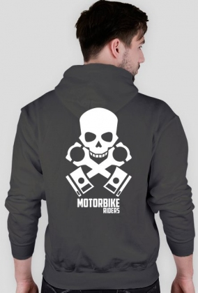 Nie znoszę być sexi + Motorbike skull - bluza motocyklowa