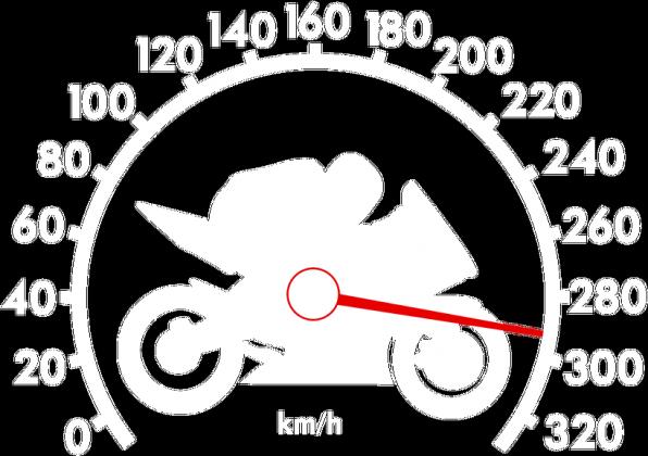 300km/h + Padłeś powstań - Męska bluza motocyklowa