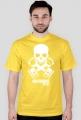 Motorbike riders skull - męska koszulka motocyklowa