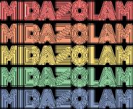 MIDAZOLAM - kubek z białym uchwytem