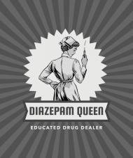 DIAZEPAM DEALER - bluza damska