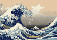 Hokusai-Fugaku Maska ochronna