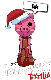 Bluza Dziecięca - Świąteczna Piggy