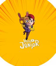 Maseczka Ochronna - Hello Junior