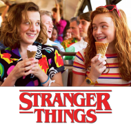 Stranger Things 3 Koszulka El i Max