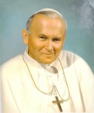 Jan Paweł II Papież maseczka