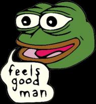 Feels Good Man (Pepe) poduszka poszewka