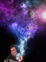 Elon Piżmo kosmos blancior kubek